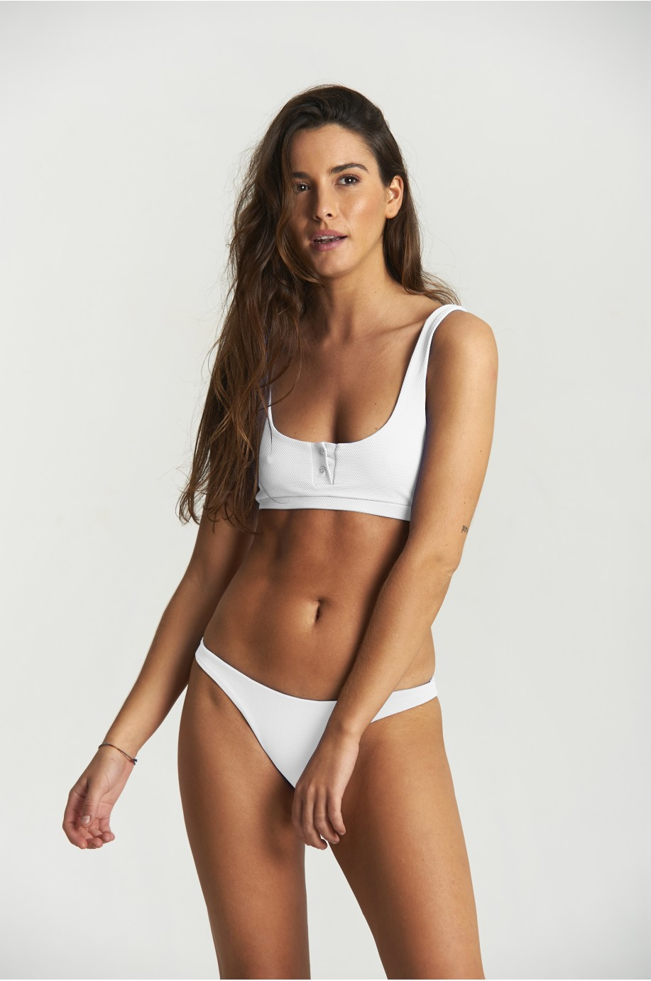 Bikini Runner Polo Blanco