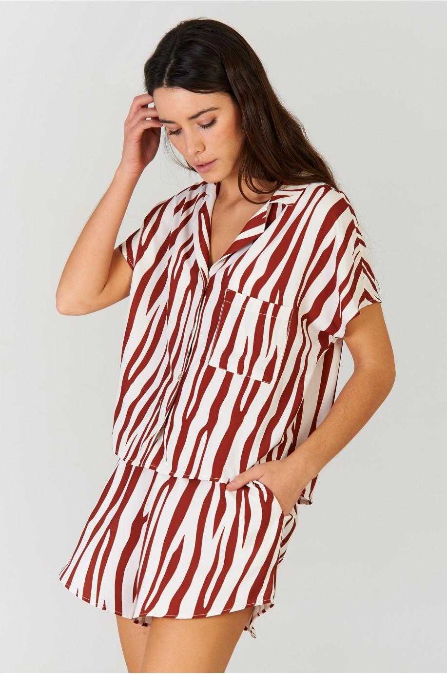 Camisa Zebra