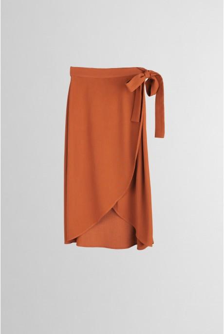 Falda larga Teja
