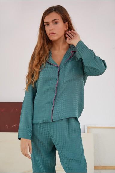 Pijama Venus Verde Petróleo