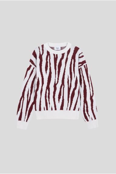 Zebra Sweater